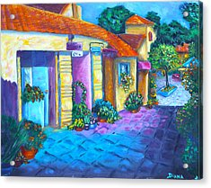 Artist Village Acrylic Print