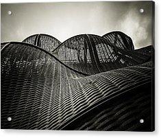 Artistic Curves Acrylic Print by Lenny Carter