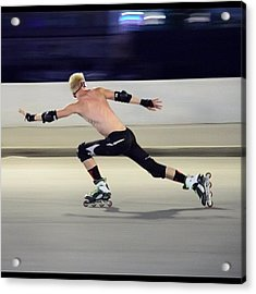 Artistic Roller Skating Is A Sport Acrylic Print