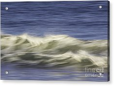 Acrylic Print featuring the photograph Artistic Wave by Betty Denise