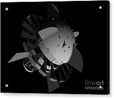 Artists Concept For An Orion-drive Acrylic Print by Rhys Taylor