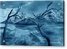 Artists Concept Of A Dangerous Snow Acrylic Print