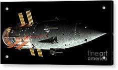 Artists Concept Of An Orion-drive Acrylic Print by Rhys Taylor