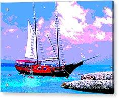 Aruba Adventure Acrylic Print by Jerome Stumphauzer