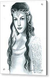 Arwen Undomiel Acrylic Print
