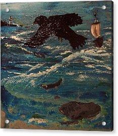 As The Crow Flys Acrylic Print
