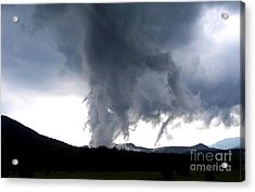 As The Storm Passed 1 Acrylic Print by Peggy Miller