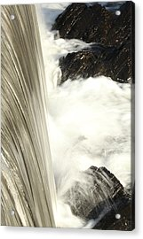 As The Water Falls Acrylic Print by Karol Livote