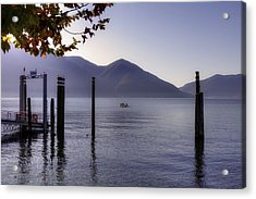 Ascona - Lago Maggiore Acrylic Print by Joana Kruse
