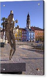 Ascona - Switzerland Acrylic Print by Joana Kruse