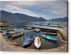 Ascona - Ticino Acrylic Print by Joana Kruse