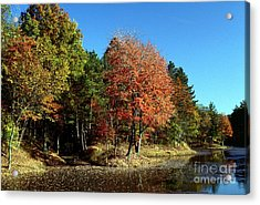 Acrylic Print featuring the photograph Ashby Pit by Jack R Brock