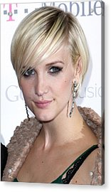 Ashlee Simpson At Arrivals For T-mobile Acrylic Print by Everett