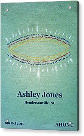 Ashley Jones Acrylic Print
