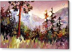 Ashnola Colours Acrylic Print