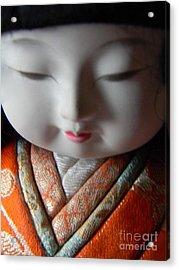 Asian Doll Acrylic Print