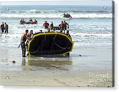 Asic Underwater Demolitionseal Students Acrylic Print by Stocktrek Images