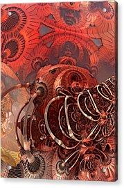 Asimov One Acrylic Print by Pam Blackstone