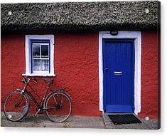 Askeaton, Co Limerick, Ireland, Bicycle Acrylic Print by The Irish Image Collection