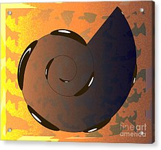 Asomatous IIi Acrylic Print by Michelle Bergersen