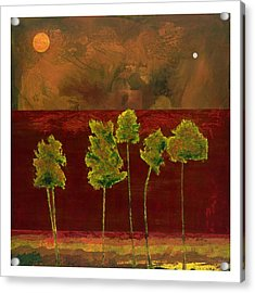 Aspens Acrylic Print