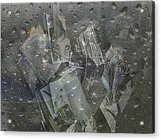 Asphalt Series - 5 Acrylic Print