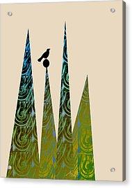 Aspire Acrylic Print by Ann Powell