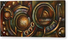 'assembly Required' Acrylic Print by Michael Lang