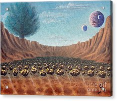 Asteroid Field From Arboregal Acrylic Print