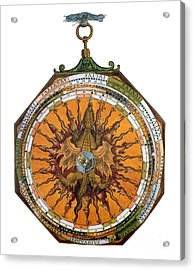 Astronomicum Caesareum With Dragon Acrylic Print by Photo Researchers