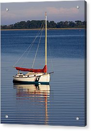 At Mooring Acrylic Print