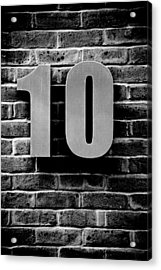 At Number 10 Acrylic Print by Jez C Self