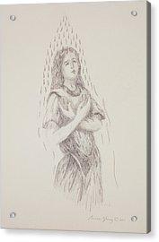 At One Acrylic Print by Bruce Zboray
