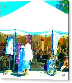 At The Antique Show #abstract #android Acrylic Print