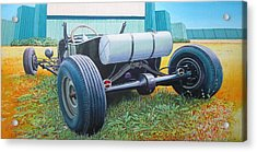 At The Drive In Acrylic Print by Jeff Taylor