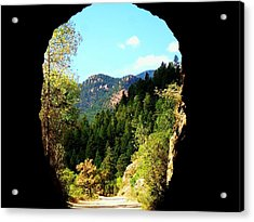 At The End Of The Tunnel Acrylic Print