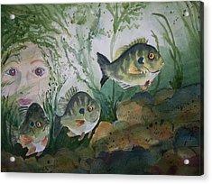 At The Fish Hatchery Acrylic Print