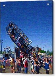 Acrylic Print featuring the photograph At The Summer Fair by Mario Carini