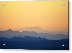 Atacama Hills Acrylic Print by Jmalfarock