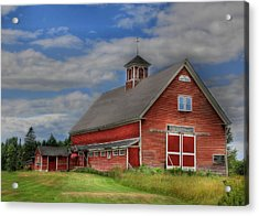 Atco Farms - 1920 Acrylic Print by Lori Deiter