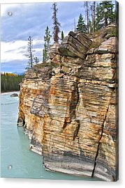 Acrylic Print featuring the photograph Athabasca River by Brian Sereda