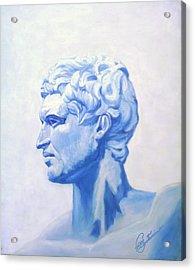 Athenian King Acrylic Print