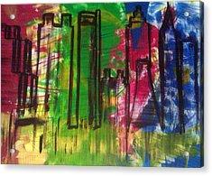 Atlanta Acrylic Print by Ari Meier