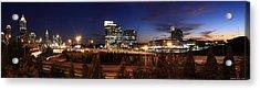 Atlanta Downtown Skyline Acrylic Print by Alberto Filho