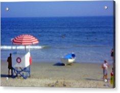 Atlantic City Lifeguard Station Acrylic Print