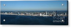Atlantic City Skyline Panoramic Acrylic Print