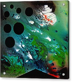 Acrylic Print featuring the painting Atlantis by Robert G Kernodle
