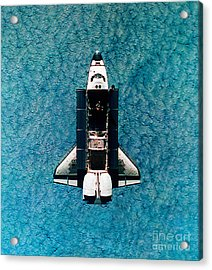 Atlantis Space Shuttle Acrylic Print by Science Source