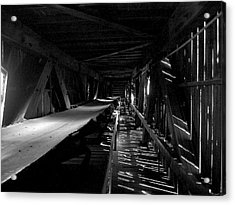 Acrylic Print featuring the photograph Atlas Coal Mine2 by Brian Sereda