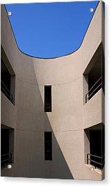 Atrium 3 Palm Springs Acrylic Print by William Dey